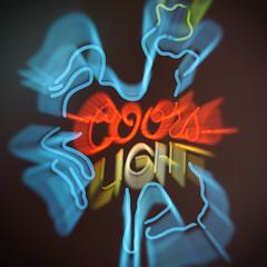Ride 'em Cowboy (Thomas Hawk) Tags: america coors coorslight dallas texas usa unitedstates unitedstatesofamerica bar beer cowboy neon rodeo fav10 fav25 fav50