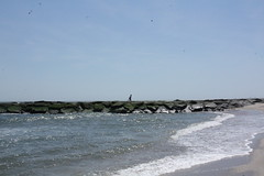 Running atop the jetty (TheFairView) Tags: oceangrove beach jerseyshore