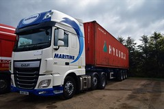 DSC_0003 (richellis1978) Tags: truck lorry hgv lgv transport haulage logistics cannock daf xf 106 euro6 maritime eu15tuv