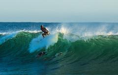 snapper rocks early morning surf (rod marshall) Tags: surfingsnappersurfingsunriseeastergrandkids surfing snapperrocks