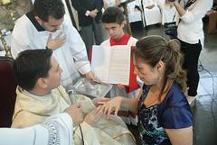 Missa das Primeiras Promessas de Celibato em 2013 (SAV/PV - Diocese de São José dos Campos) Tags: partilha vocacional vocação comunidade católica pantokrator testemunho