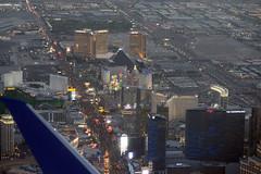 Night aerial view of The Strip, Las Vegas, Nevada (cocoi_m) Tags: night aerialphotograph aerial thestrip lasvegas nevada