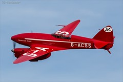 "de Havilland DH.88 Comet ""Grosvenor House"" (Ian Garfield - thanks for over 1 Million views!!!!) Tags: dh88 comet grosvenor house gacss 34 old warden shuttleworth september air race airshow airday display world war 2 one airplane avgeek aeroplane aircraft bedford collection vehicle outdoor"