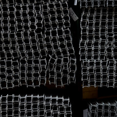 a cross (zeh.hah.es.) Tags: hüntwangen ktzh schweiz switzerland black schwarz grau grey gray kreuz cross quadrat square profile
