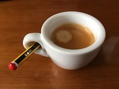 Día 252 | Preparado (Chimista) Tags: iphone iphone6splus 365coffeeroad café taza jaén lápiz