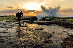 Anything for the perfect shot! (mohammad.hossain@y7mail.com) Tags: narrabeen sunrise water splash photographer