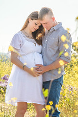 IMG_0161 (photos_by_EmilyRose) Tags: maternity flowers field momtobe babybump baby