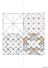 20160919b (regolo54) Tags: islamicdesign islamicgeometry islamicart arabiangeometry symmetry mathart regolo54 structure circle square star escher