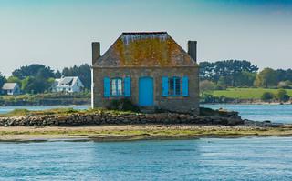 la maison aux volets bleu