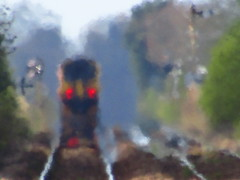 156406 Into The Haze (Gary Chatterton 3 million Views Thank You All) Tags: 156406 train railway heathaze track locomotive flickr exploreinterestingness