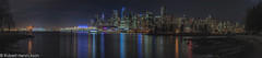 Vancouver Nightscape-37 (Robert Henrickson) Tags: vancouverisawesome vancouver coalharbour nightscapes nightphotography skyline cityscapes panorama stanleypark longexposure mycity