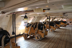 HMS Victory Upper Gun Deck (31) (NTG's pictures) Tags: portsmouth historic naval dockyard hms victory lord nelson flagship trafalger