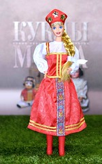"✪ Photo by Daria Merkulova ✪  Dolls of the World Collection, Russian Barbie Doll by Mattel. Collector Edition 1996.   Коллекционная кукла Российская Барби в русском национальном костюме из серии ""Куклы Мира"", выпущенная в 1996 году. (russian-photographer.ru) Tags: toy toys collectibles doll barbie barbiedoll bright beauty russia игрушка игрушки коллекционирование кукла барби барбикукла ярко красота россия vtg rare vintage raritas puppet dummy beautiful 娃娃 puppe muñeca bambola poupée handsome nice lovely goodly superb wonderful mattel russian russianbarbie"