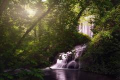 Monasterio de piedra (je550) Tags: paisaje paisajes landscape landscapes water waterfall cascada agua green forest bosque montaña mountain sunrise sun sky highlights
