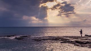 ..:: fishing at sunset ::..