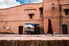. (superUbO) Tags: marrakech murrākuš مراكش girl red medina marocco streetphotography motorcycle walk spirit uboldiemanuele travel traditions go wwwphotoworksit angle people morocco