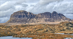 The Mighty Suilven (McRusty) Tags: suilven inverpolly estate assynt mountain corbett glacial carving erosion beautiful natural outdoor beauty north west highland scotland