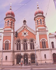 """The Great Synagogue """"Velká Synagoga"""" in Plzeň, Czech Republic is the second largest synagogue in Europa. Photo by me 2011  #plzen #czechrepublic #synagogue #jews #jewish #interrail #2011 #interrail2011 #interrail2011🚂🌍 (gaziza2) Tags: instagramapp square squareformat iphoneography uploaded:by=instagram 1977"""