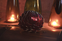 Dragon Eggs 12 (icantcu) Tags: lightpainting light painting lowlight low dark gothic medieval dragon egg scale theringlord knitting crafts diy hobby