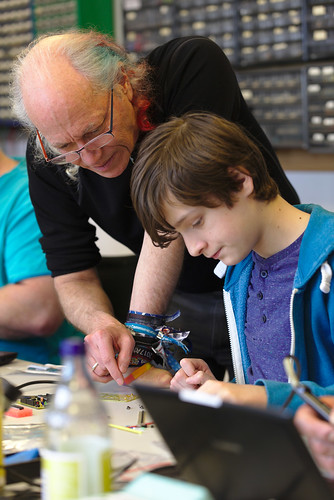 "Workshop ""Soldering Basics"" by Mitch Altman"