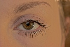 18-05-2013 / The Other Eye (RPL Creative) Tags: brown green eye girl female model lashes makeup hazel project365