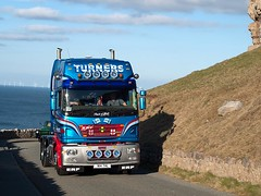 N14 THL  2001  ERF  ECX  Turners of Hoole (wheelsnwings2007/Mike) Tags: 2001 erf turners thl hoole n14 ecx
