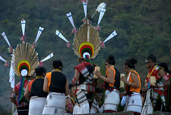 Naga Tribals (VinayakH) Tags: people india tribal naga kohima nagaland kisama northeastindia hornbillfestival