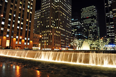 NYC in Winter (A&A Photography Services) Tags: christmas new york nyc newyorkcity newyork water buildings waterfall nikon d7000