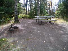 Cascade River State Park campsite