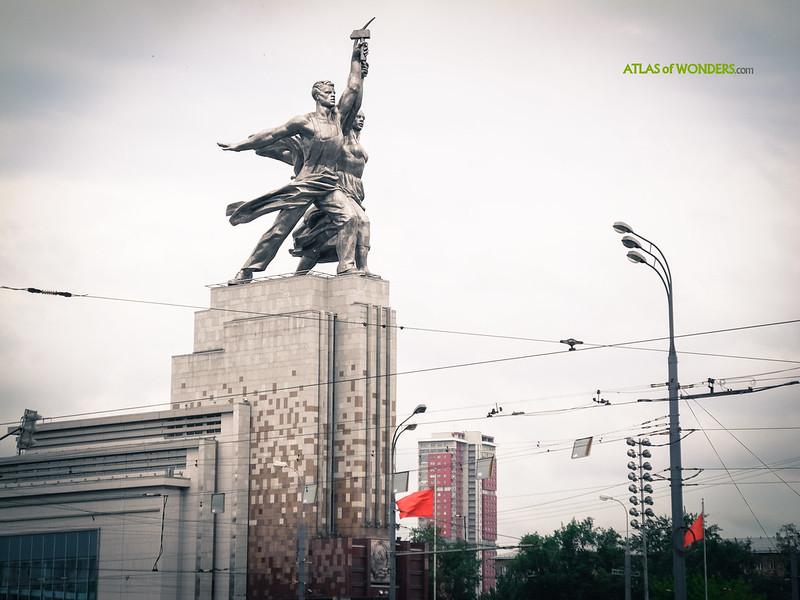 Monumental Soviet Statues