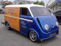 1958 DKW Schnellaster Kastenwagen (splattergraphics) Tags: truck 1958 hotrod van custom carshow dkw autounion oceancitymd kastenwagen worldcars schnellaster cruisinoceancity