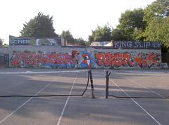 009 (desksn1) Tags: graffiti desk swindon oldschool production ryder desk1 rawcrew