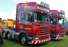 Ian Murrie L18 COO (L) & M18 COO (R) (Ryan Douglas.) Tags: uk scotland edinburgh ryan douglas ingliston truckfest 2013 ryansairlinepictures tfs2013