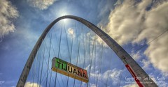 Bienvenidos a Tijuana y México (LensLord) Tags: wedding mexico jack arch details border bull architectural foster tijuana frontpage mancilla canonef28300mmf3556lis ijakmaccom lenslord thelenslord
