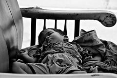 Street Nap (Pedestrian Photographer) Tags: b boy sleeping bw baby white black june cambodia cambodian khmer sleep w son tuktuk asleep tuk pajamas phnom penh 2013 dsc7793jpg dsc7793