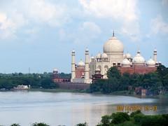 Taj Mahal - Back view