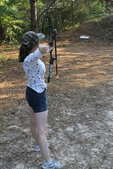 "Johanna and the target • <a style=""font-size:0.8em;"" href=""http://www.flickr.com/photos/27717602@N03/9579533644/"" target=""_blank"">View on Flickr</a>"