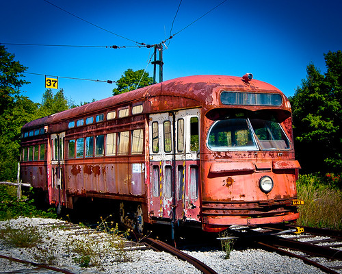 Old TTC Street Car