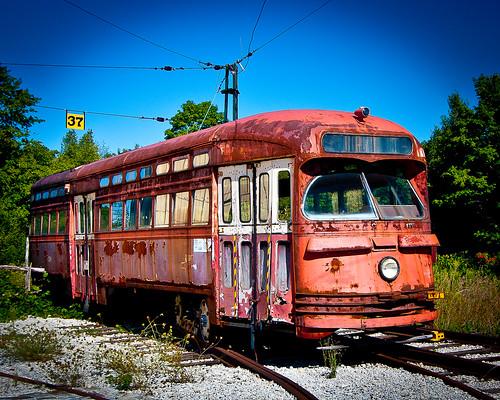 Old TTC Street Car