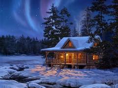 Art-Beautiful-Hut-Lake (vinod_pednekar) Tags: