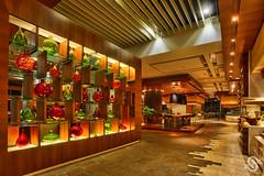 Putrajaya Marriott Hotel & Spa - Zest Restaurant (Shamsul Hidayat Omar) Tags: red green tourism beautiful photography restaurant hotel scene malaysia jar vase putrajaya interiordecoration interiordesign hdr highdynamicrange interestingplaces greatphotographers nikond3 zestrestaurant nikonhdr oloneophotoengine shamsulhidayatomar putrajayamarriotthotelspa