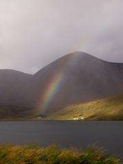 Skye rainbows (Forgotten Chapters) Tags: house mountain skye rain weather rainbow loch isle beatiful