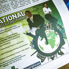 "The ""successful black man"" meme made it to the East African!"