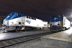Spokane Nights (MIDEXJET (Thank you for over 2 million views!)) Tags: washington spokane unitedstatesofamerica amtrak spokanewashington empirebuilder p42 amtk amtk114 p42dc americastrain amtrakpacificdivision