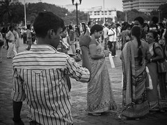Don't Move (Naveed Dadan) Tags: street city travel people urban blackandwhite bw india photography 50mm streetphotography documentary olympus 45mm