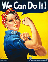1942 ... Rosie the Riveter!