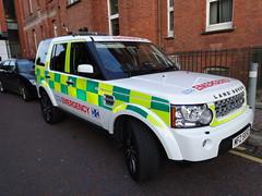 NHS Scottish Organ Retrieval Team Land Rover Discovery 4 (999Adam) Tags: hospital team 4 scottish rover mater organ nhs land discovery retrieval 5650 emeregency mfz