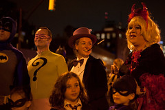 103113_halloween_parade_nyc-68 (cloudcity) Tags: show new york city nyc costumes halloween drag penguin tv 60s october village cosplay greenwich tights parade batman devil 1960s dragqueen riddler 2013