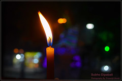 Power (Prosenjit Ghosh) Tags: light india festival nikon bokeh flame dslr hindu candel bengali