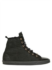 JIMMY CHOO  20MM DESTIN SHEARLING HIGH TOP SNEAKERS Fashion Fall Winter 2013-14 (xecereterys) Tags: winter fall high women shoes top jimmy sneakers choo 20mm destin shearling 2013 jimmychoo20mmdestinshearlinghightopsneakersfallwinter2013womenshoessneakers